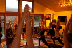 Stowe Mountain Yoga Room The Travel Yogi