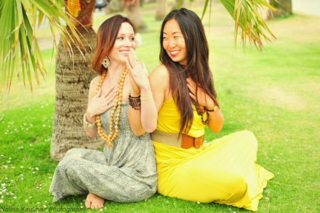 Bali Yoga Retreats Noelle Beaugureau Chloe Park The Travel Yogi