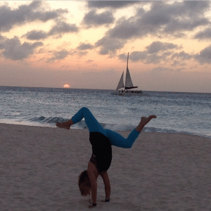 aruba yoga retreat sunset cruise