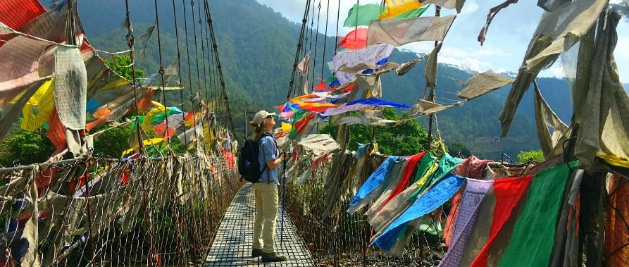 Bhutan Prayer Flags Bhutan Travel The Travel Yogi