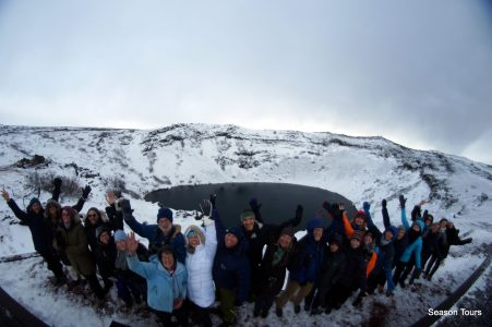 iceland group photo