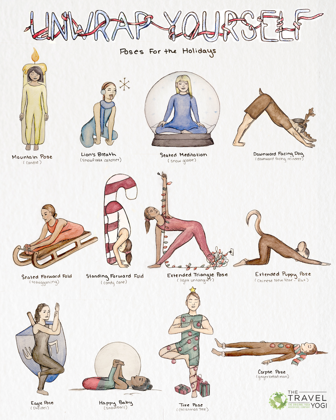 Unwrap Yourself: Yoga Poses for the Holidays