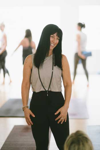 janet corvino yoga teacher