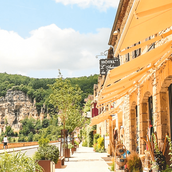 A sun-soaked building offers refuge on this yoga retreat in France with The Travel Yogi.